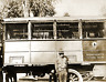 "1918 Shoe Repair Truck, MA National Guard Vintage Old Photo 8.5"" x 11"" Reprint"