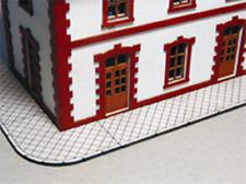 HS  Proses PLS-017 Fussgängerwegteile Diamantplattenmuster Lasercut Bausatz