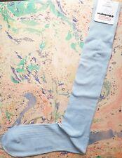 Burlington Cambridge para Hombre Calcetines Largos de Algodón Ecosse FIL d 'Azul UK 6.5-11 RRP £ 16