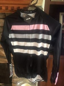 OCG  Cycling Jersey Zip Med Wmns NEW