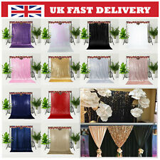 Glitter Sequin Backdrop Background Curtain Photoshoot Booth Decor Wedding Party