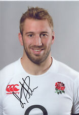 CHRIS ROBSHAW - Signed 12x8 Photograph - SPORT - ENGLAND RUGBY