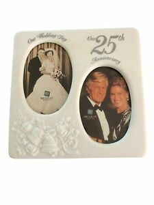 Everlasting Love Our 25th Wedding Anniversary Porcelain Photo Frame Russ