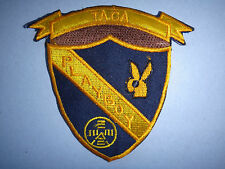 US Marines TACA PLAYBOY Machine Embroidered Patch