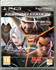 "Fighting Edition (Tekken Balise Tournamament 2/Soul Calibur V/Tekken 6) ""NEUF"" * PS 3 *"