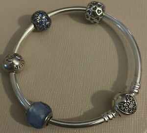 Pandora Bangle Charm & Clip Set