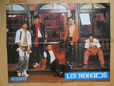 ►POSTER - NEW KIDS ON THE BLOCK - BENNY B  - 57cm x 44cm - 1991