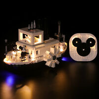 LED Light Kit for LEGO Steamboat Disney Mickey 21317 ( Sydney Stock)