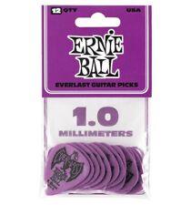 Ernie Ball 9193 - Sachet de 12 médiators Everlast violet - 1.00mm