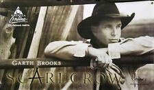 Garth Brooks 2001 Scarecrow Double Sided Banner Mca Records Promo Poster