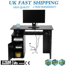 Office Computer Iron MDF Writing Desk Home Gaming PC Furnitur Corner Table UK