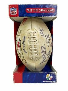 NFL 2000 Kansas City CHIEFS Limited Ed.  Autographed Signed Football 6 Players