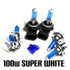 BMW série 3 E90 320d 100W Super Blanc XENON HID main / dip / brouillard / côté ampoules