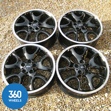 "GENUINE MINI 19"" 139 Y SPOKE COUNTRYMAN PACEMAN ALLOY WHEELS R60 R61 COOPER JCW"