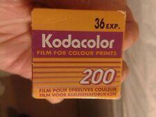 12 anni, pellicola KODAK 36 EXP. CORLOUR Stampa, mai usato, sponsor OLIMPICO