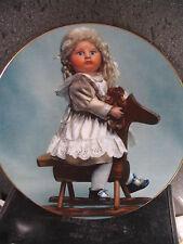 Doll Coll 1984 Uneasy Rider Ann Lloyd Doll on Hobby Horse Ltd Ed Plate