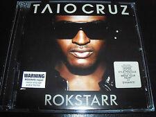 Taio Cruz Rokstarr 14 Track CD Ft Break Your Heart & Dynamite - Like New