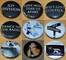 JOY DIVISION (Various Designs) Button Badge 25mm / 1 inch IAN CURTIS