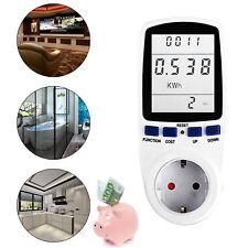 Strommesser Steckdose Energiekosten Messgerät Energiemesser Stromzähler