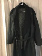 Ermenegildo Zegna LAM Trench Coat With Liner Size 52 L