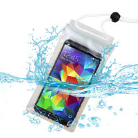 Universal Transparent Clear Waterproof Pouch (with Lanyard