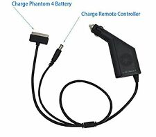 Topbest 2 in 1 Car Charger 4A for DJI Phantom 4 ForBattery and Remote Controller
