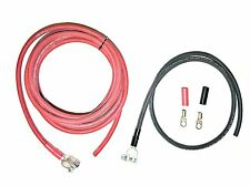 Battery Relocation Cable Wire Harness Kit 1 Awg Cable