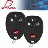 2 For Chevy HHR 2006 2007 2008 2009 2010 2011 Keyless Remote Key for KOBGT04a