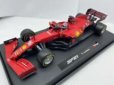 1:18 Burago Ferrari F1 Sf21 #16 Season 2021 Charles Leclerc Matt Red BU16809LE-Y