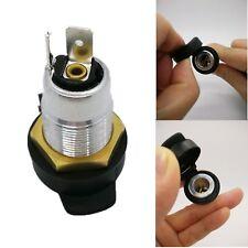 12/24V Universal Female Din Cigarette Lighter Socket Adaptor For Hella BMW Moto