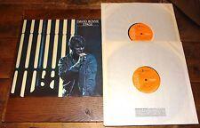 DAVID BOWIE ~ STAGE ~ UK VINYL 2x DOUBLE LP RCA ORANGE LABEL PRESS ~ NEAR MINT