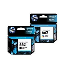 HP 662 INK GENUINE CARTRIDGE -COMBO PACK- (1 BLACK + 1 TRI-COLOR) HP DESKJET