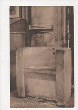 Beverley Minster Sanctuary Chair Vintage Postcard 574a