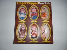 Knickerbocker/doigt poupées-Set, Raggedy Andy, Ann, Flintstones/ALAT/#16#