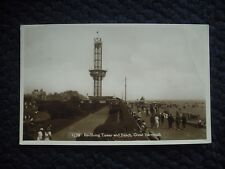 POSTCARD REVOLVING TOWER & BEACH, GREAT YARMOUTH, NORFOLK 1933