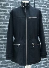 UltraRare & Great Dior Homme AW10 Dark Grey Wool Padded Parka Coat