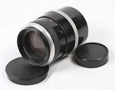 Carl Zeiss Jena Sonnar 135mm f/4 black silver M42 lens 6848657