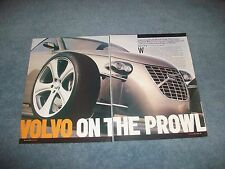 """2004 Custom Built Volvo T6 Roadster Article """"Volvo on the Prowl"""""""