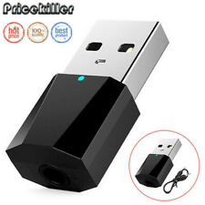 Mini USB Wireless Bluetooth 3.5mmAudio Stereo Music Receiver for AUX Car Speaker