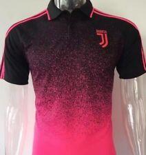 Juventus Polo maglia nera rosa  taglia S t-shirt poliestere