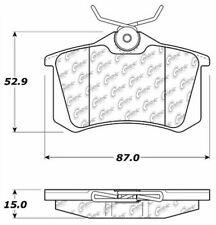 Ceramic Disc Brake Pad Set-Sedan Rear Centric 103.03400
