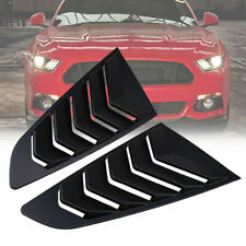 For Ford Mustang EcoBoost Premium GT 15-18 Window Louver Cover Vent Rear Side