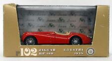 Brumm 1/43 Scale Diecast Model MOBRR102 - 1948 Jaguar HP160 3.5 Litre -  Red