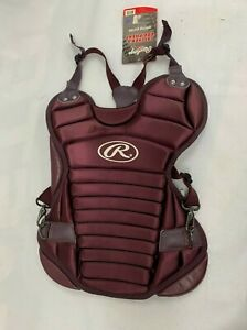 Rawlings RCPJ Junior Catcher's Chest Protector Maroon