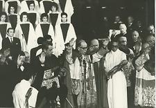 Chile's Goosestep Gala, Cardinal Paul Silva Enriques Vintage silver print