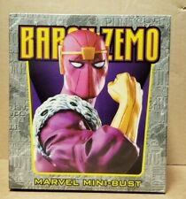 BOWEN DESIGNS BARON ZEMO MINI-BUST #3886 (FACTORY SEALED) CS157