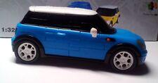 Puzzle fun 3D Mini Cooper 1:32 blau - fertig montiert