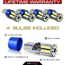 "4X 921 T10 194 168 ""SUPER BRIGHT"" LED Backup Reverse Interior Light Bulbs Lamp"