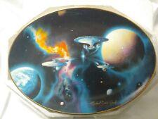 Hamilton Collection Star Trek To Boldly Go Collector's Plate Hallmark Eaglemoss