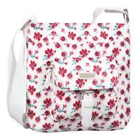 TOM TAILOR Rinapu Flower Cross Bag Umhängetasche Tasche White Weiß Pink Neu